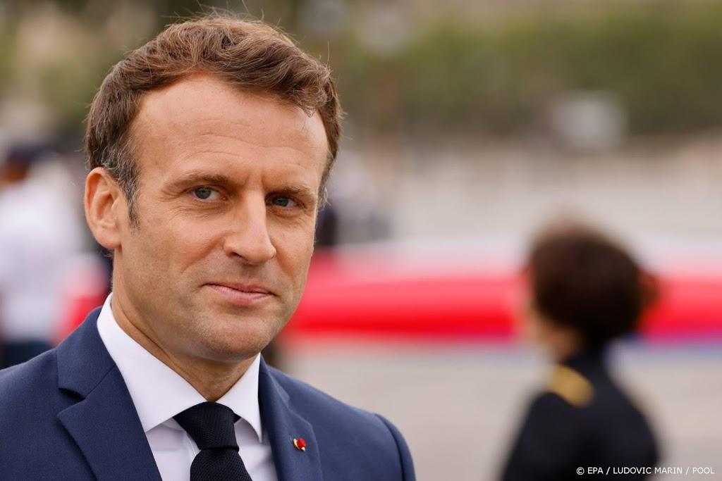 Macron: Frankrijk is solidair met Benelux en Duitsland