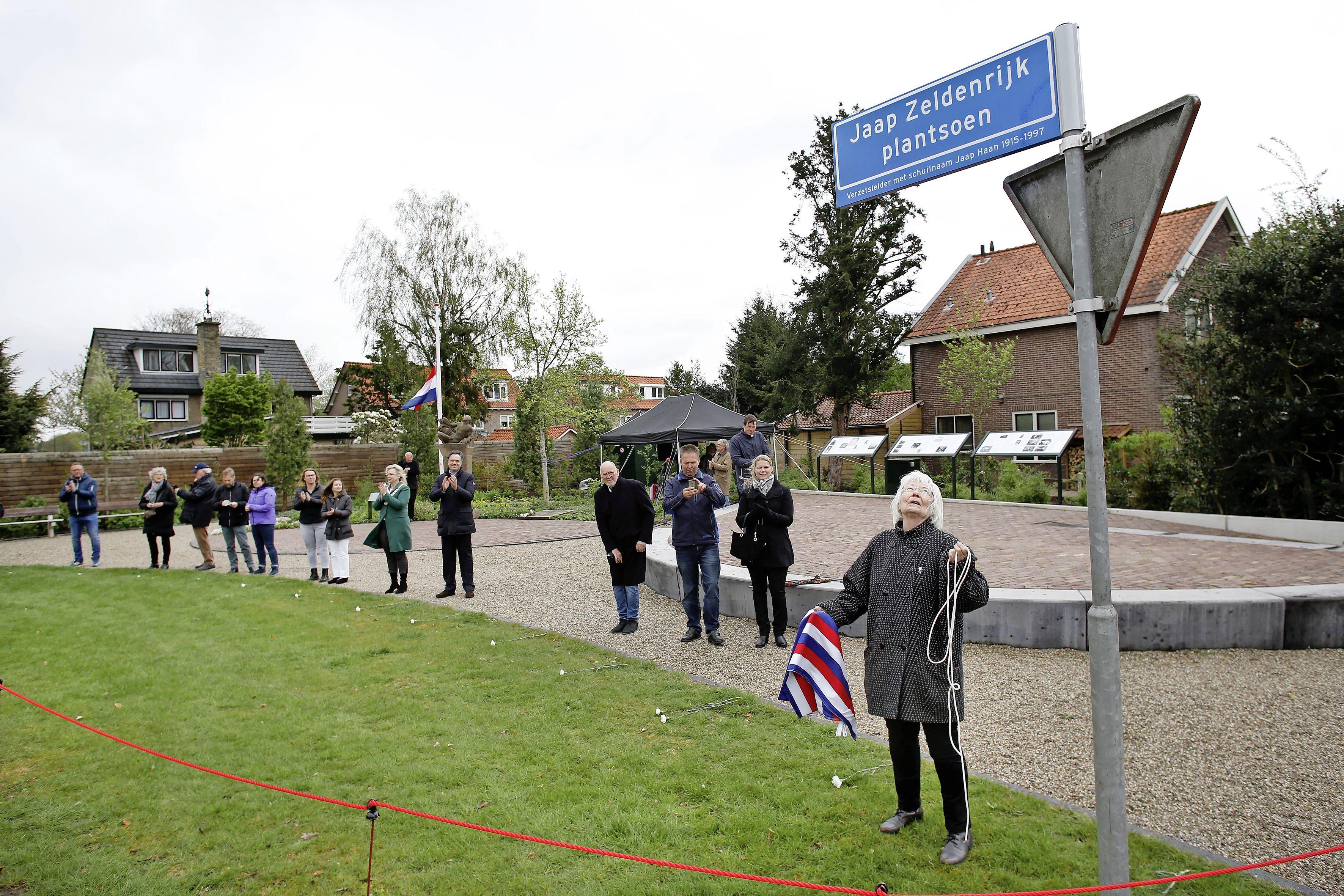 Loosdrechts oorlogsmonument vernoemd naar verzetsman Jaap Zeldenrijk
