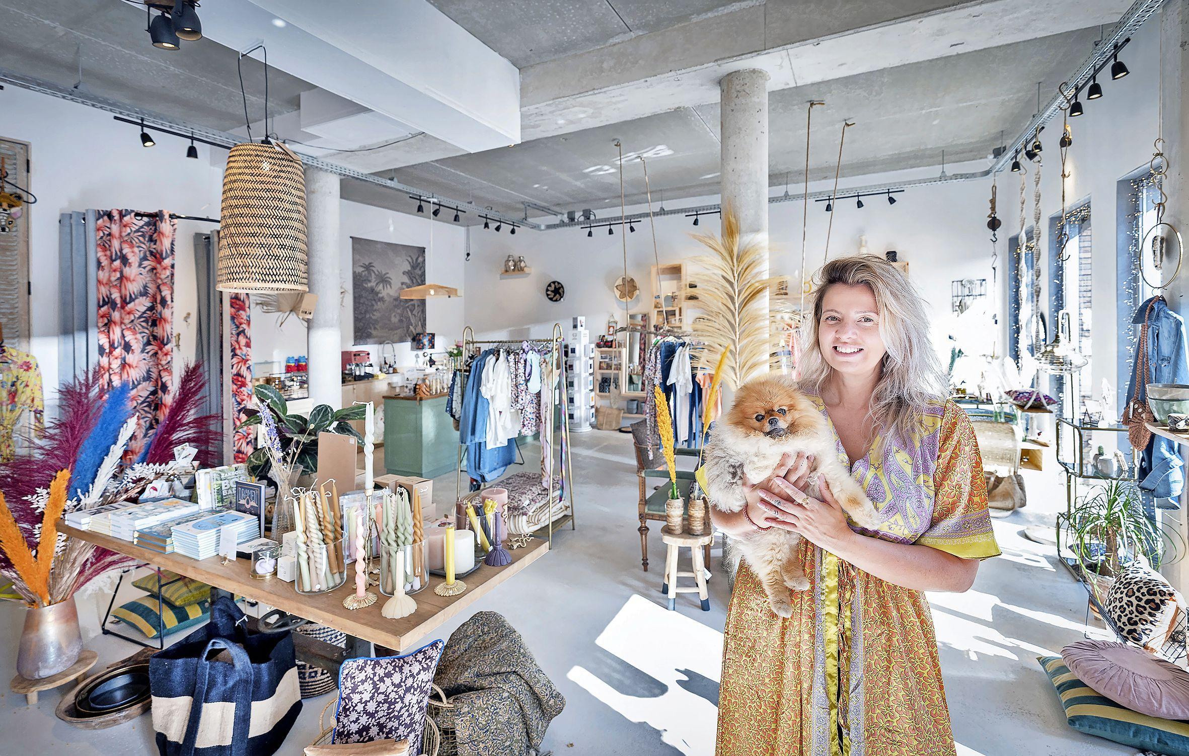 'Het is altijd al een droom van me geweest om een eigen winkel te hebben.'Kimberly verkoopt aparte cadeauspulletjes