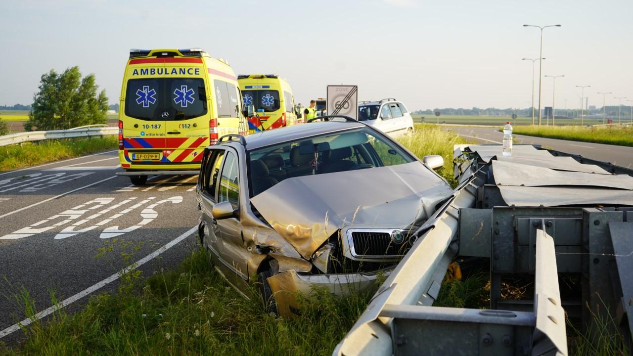 Drie gewonden bij eenzijdig ongeval in Alkmaar