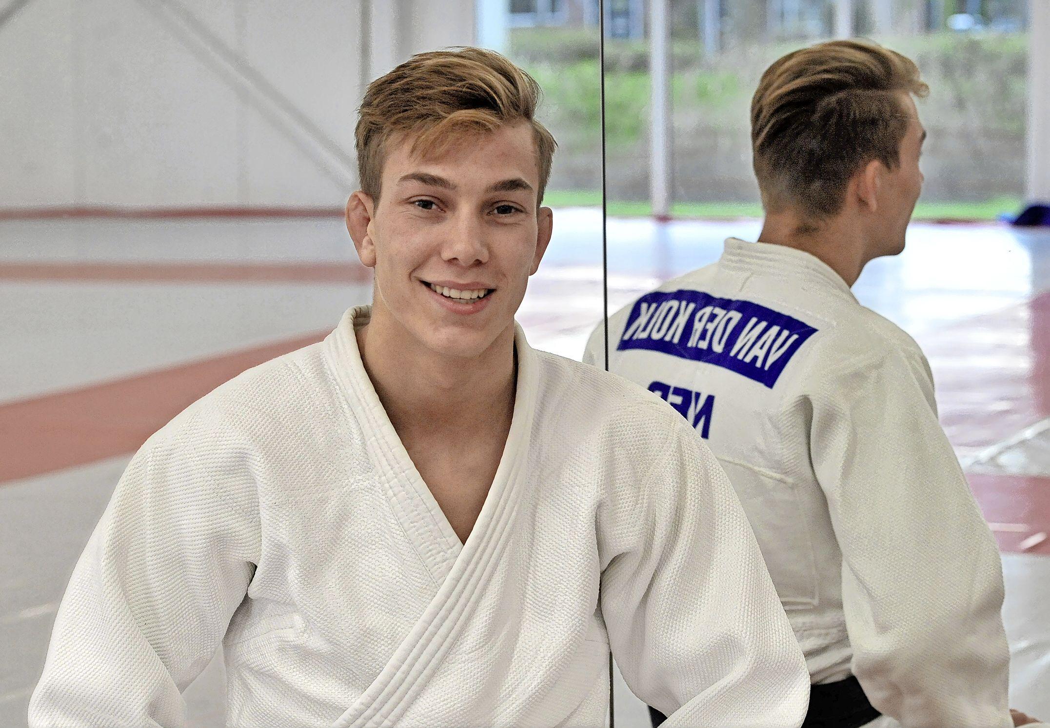 Hij mag naar het WK in Boedapest. 'Voelt als een beloning voor al het harde werken', stelt Alkmaarse judoka Yannick van der Kolk
