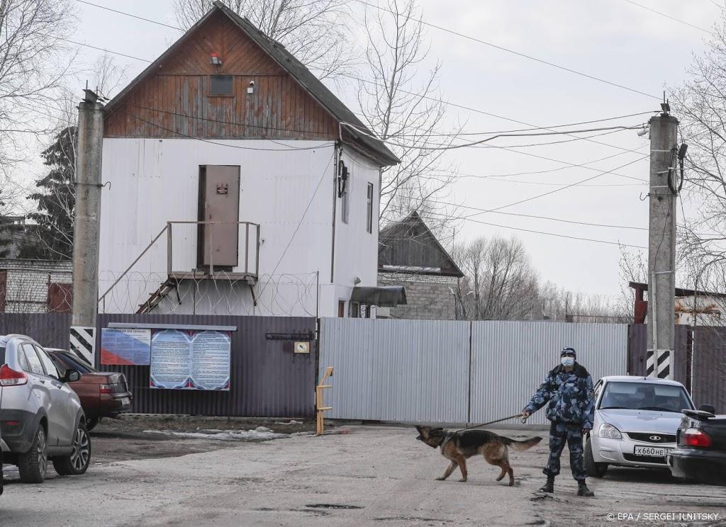 'Gevangenis dreigt hongerstakende Navalni te dwingen tot eten'