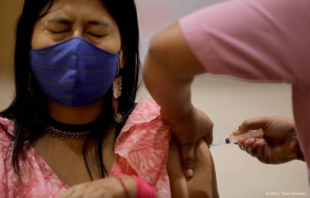 India boekt vaccinatierecord met 7,8 miljoen prikken op een dag