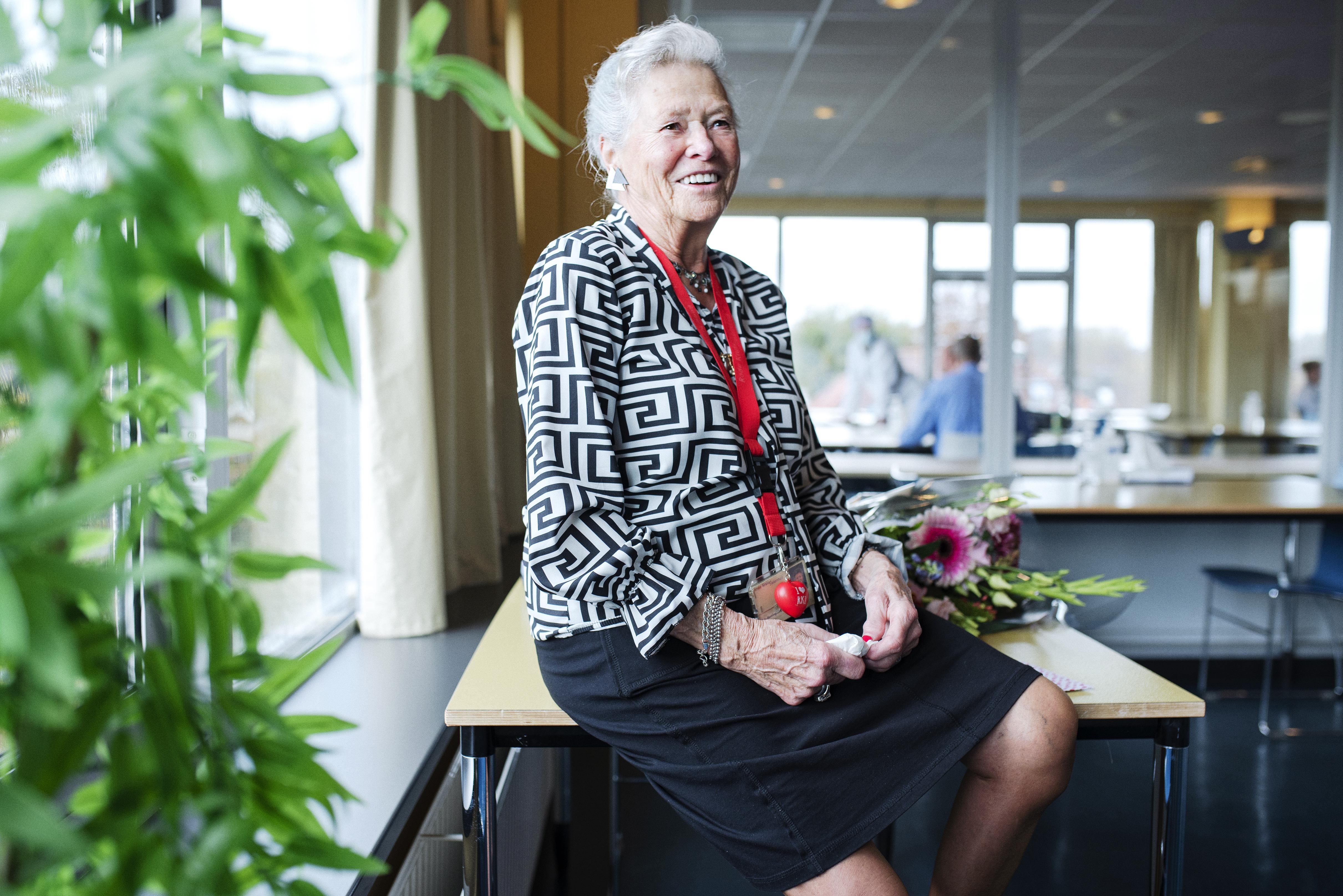 Corry Koning (89) al veertig jaar vrijwilliger in het RKZ in Beverwijk: 'Het ziekenhuis is een beetje van mij'