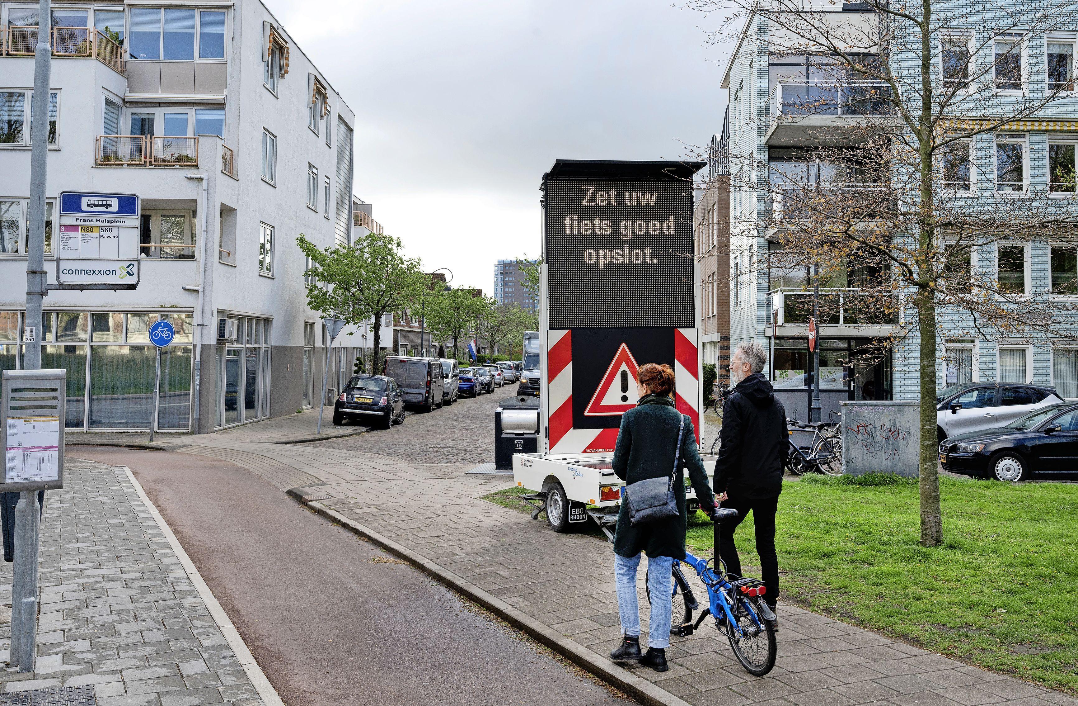 Toename fietsendiefstallen. Politie waarschuwt: 'Zet fiets goed op slot in Haarlem-Noord'
