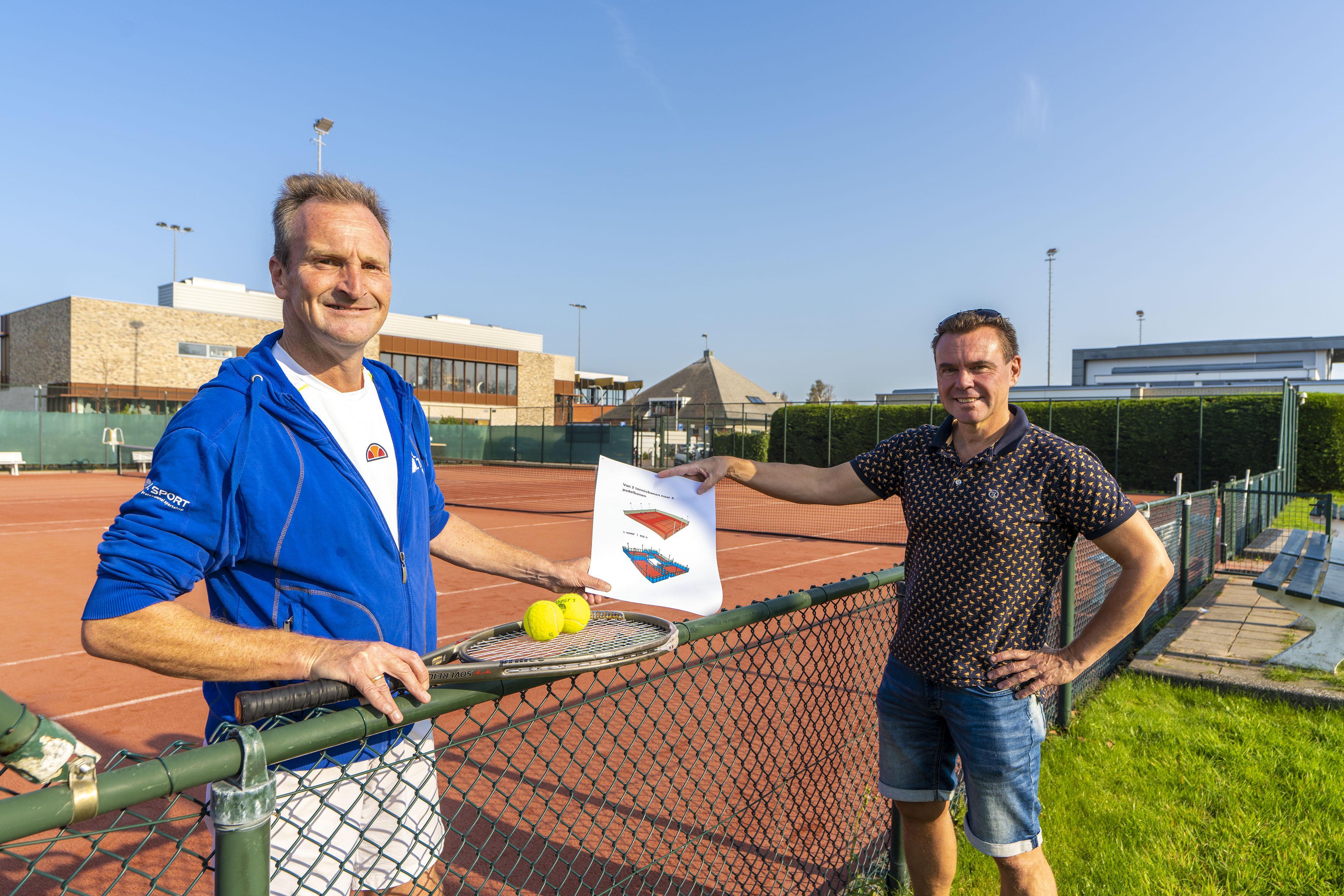 Katwijkse Lawn Tennis Vereniging levert twee tennisbanen in voor vier padelbanen: 'Momentum om te investeren is nu'