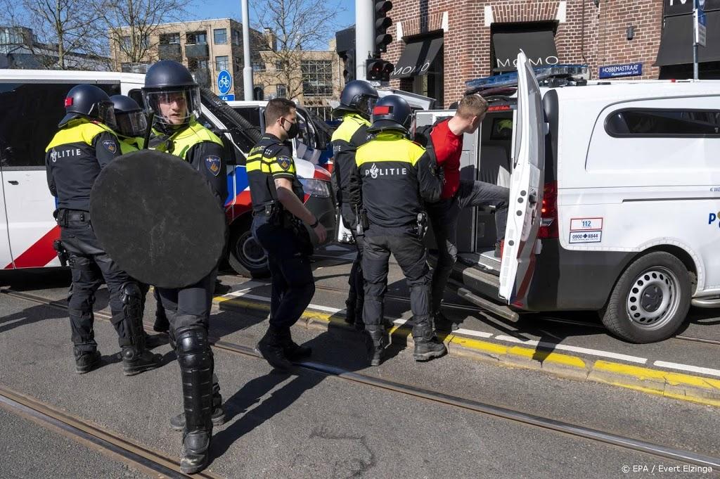 'Op Koningsdag de helft minder aanhoudingen in Amsterdam'