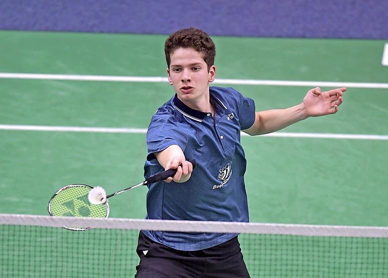 Badmintonner Ties van der Lecq (Heiloo) overdonderd door behalen landstitel: 'Dit hadden we totaal niet verwacht'