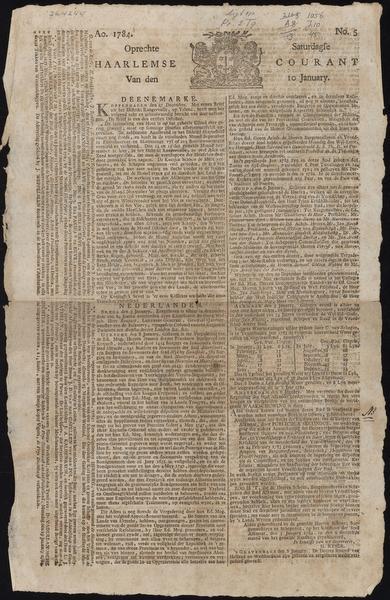 Uit de Tijd: Roerige historie Opregte Haerlemse Courant
