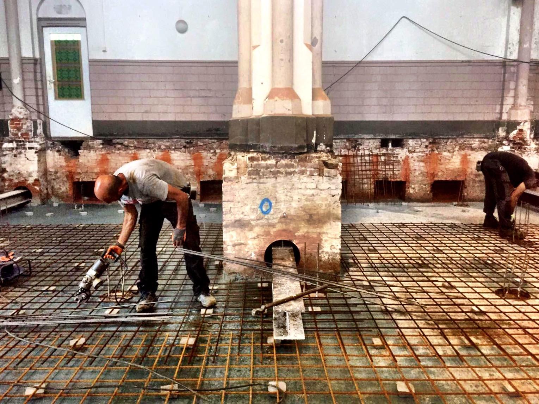 Laurentiuskerk klaar voor 300.000 liter beton