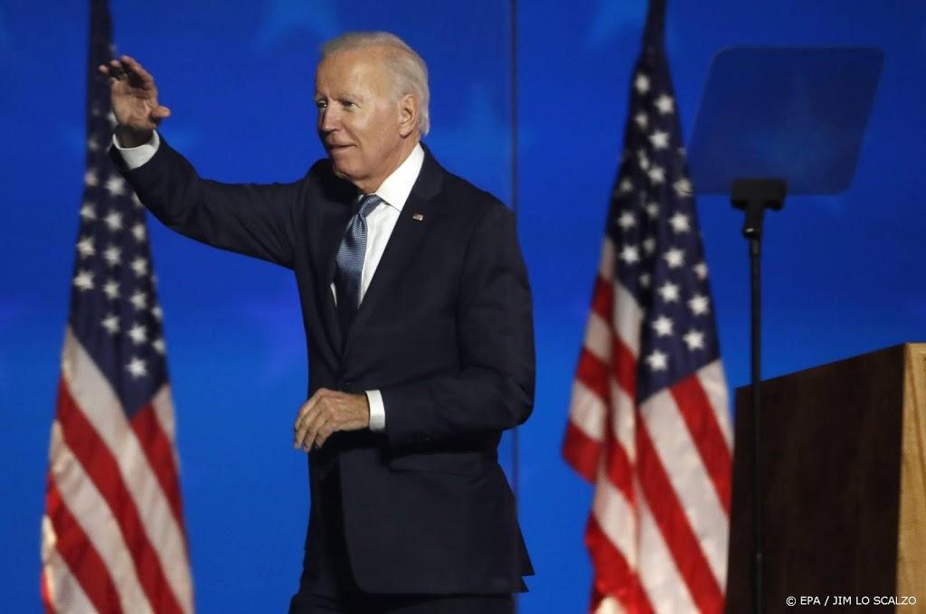 Biden: VS terug in klimaatverdrag Parijs op 1e dag als president