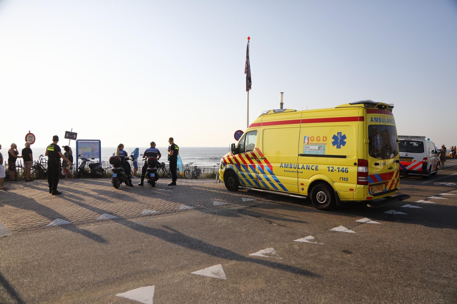 Drenkelingen overleden voor de kust van Zandvoort en Wijk aan Zee