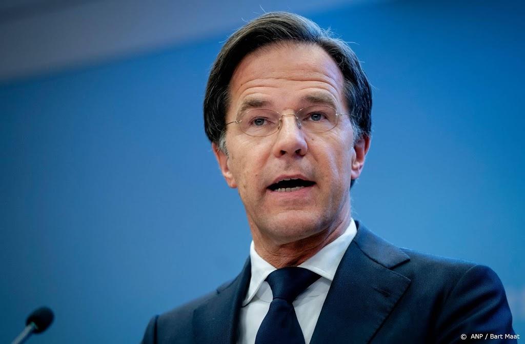 Taakstraf voor bedreigen Rutte op Facebook