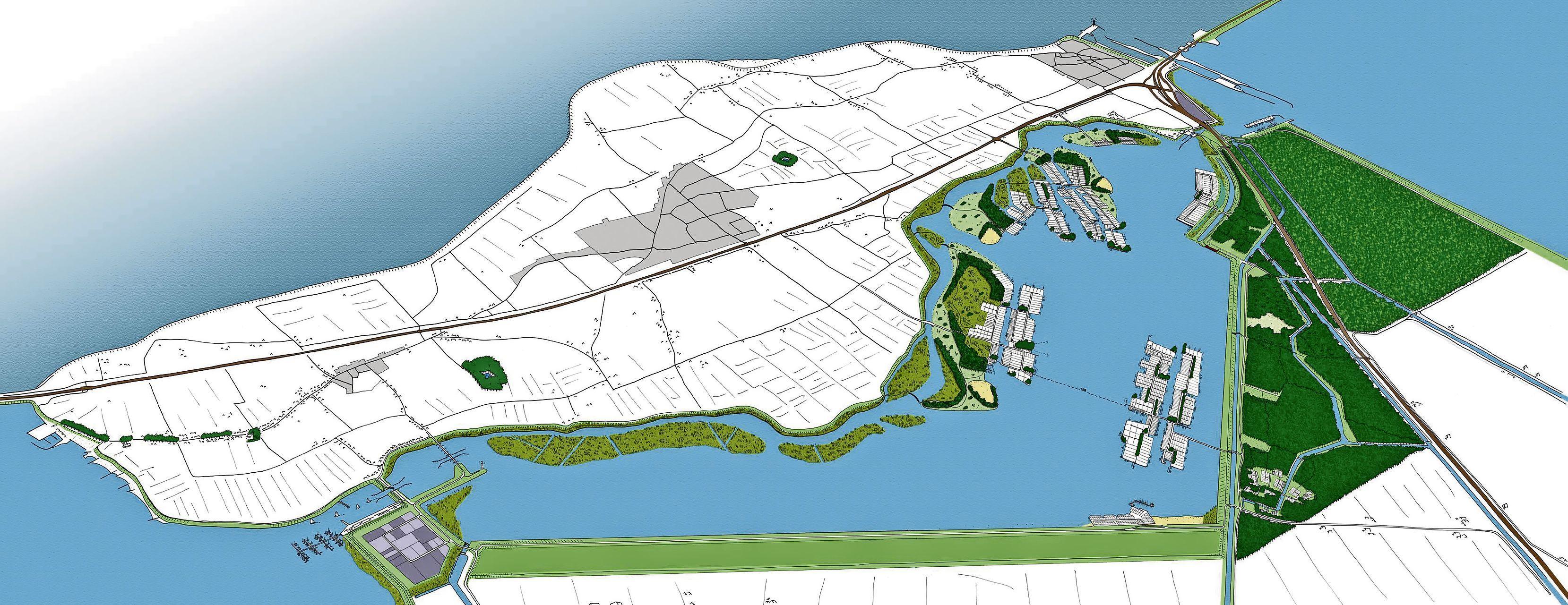 Te koop: 15.000 vierkante meter grond die eigenlijk Wieringerrandmeer had moeten worden
