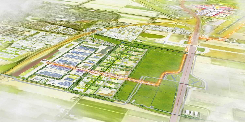 Een sexy ecologisch distributiecentrum, kan dat? Ja dat kan: VDG start met bouw op Schiphol Trade Park