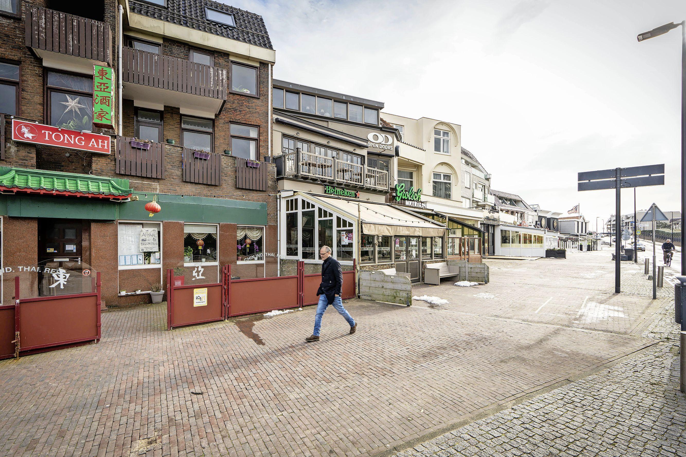 Noordwijk gaat ondernemers verleiden in strijd tegen leegstand: 'Wellicht ook andere horeca toestaan'