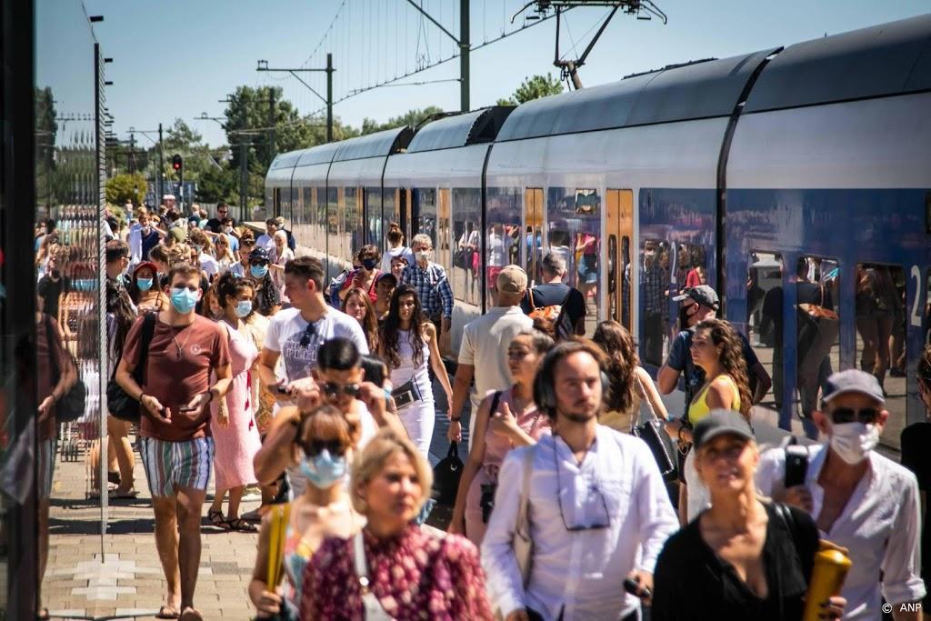 NS zet vanaf april extra treinen in richting Zandvoort