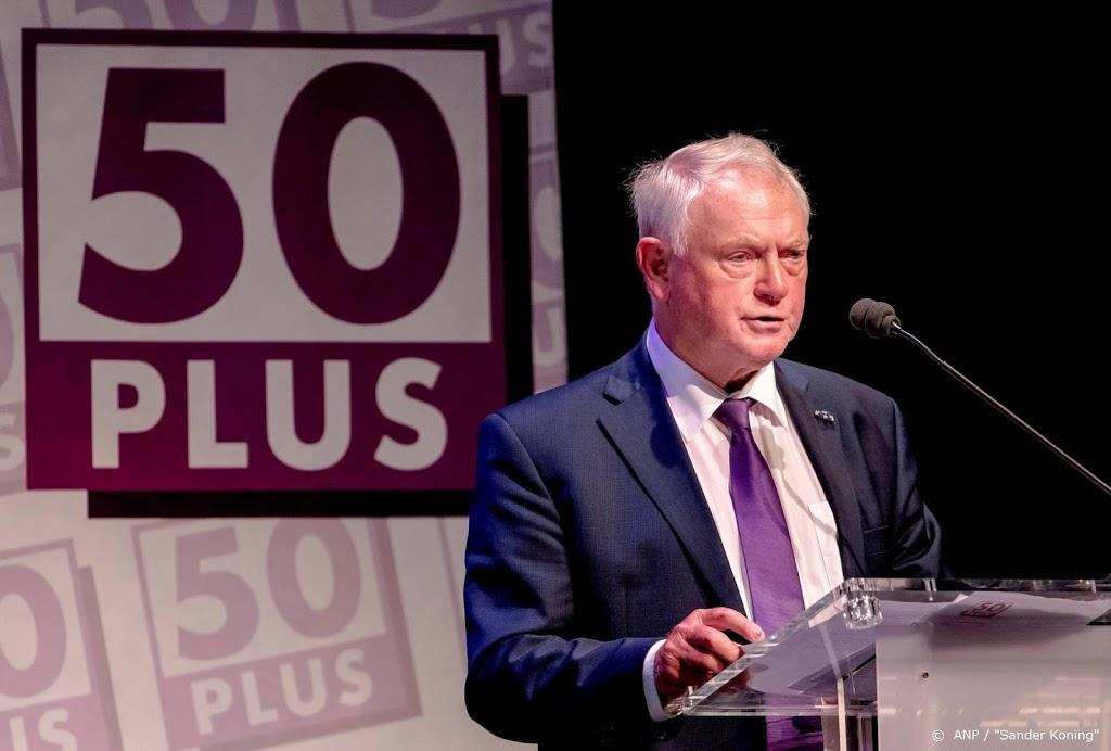 Jan Nagel nieuwe voorzitter van 50PLUS