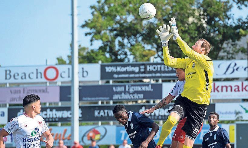 Geen wedstrijd voor Noordwijk na positieve coronatest bij Koninklijke HFC