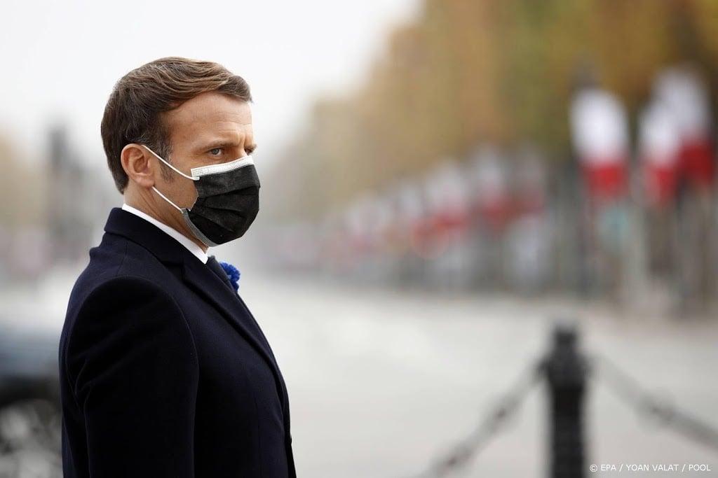 Macron: strijd tegen terrorisme vergt internationale aanpak