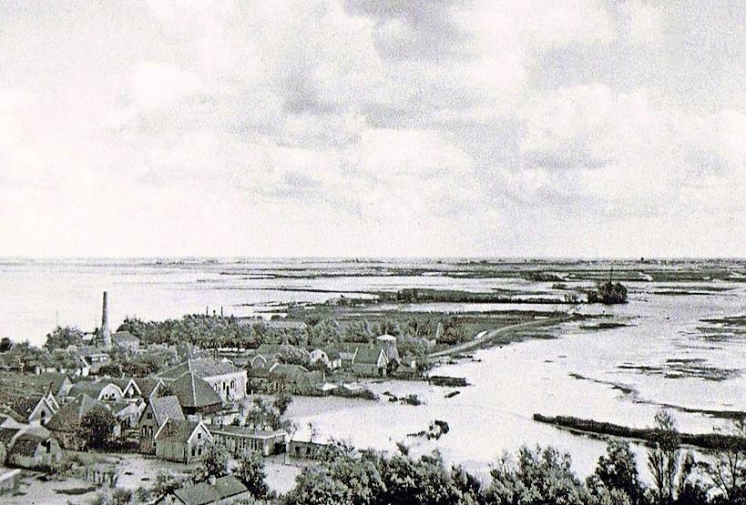 Inunderen van polders bij Uitgeest bracht louter ellende voor eigen volk