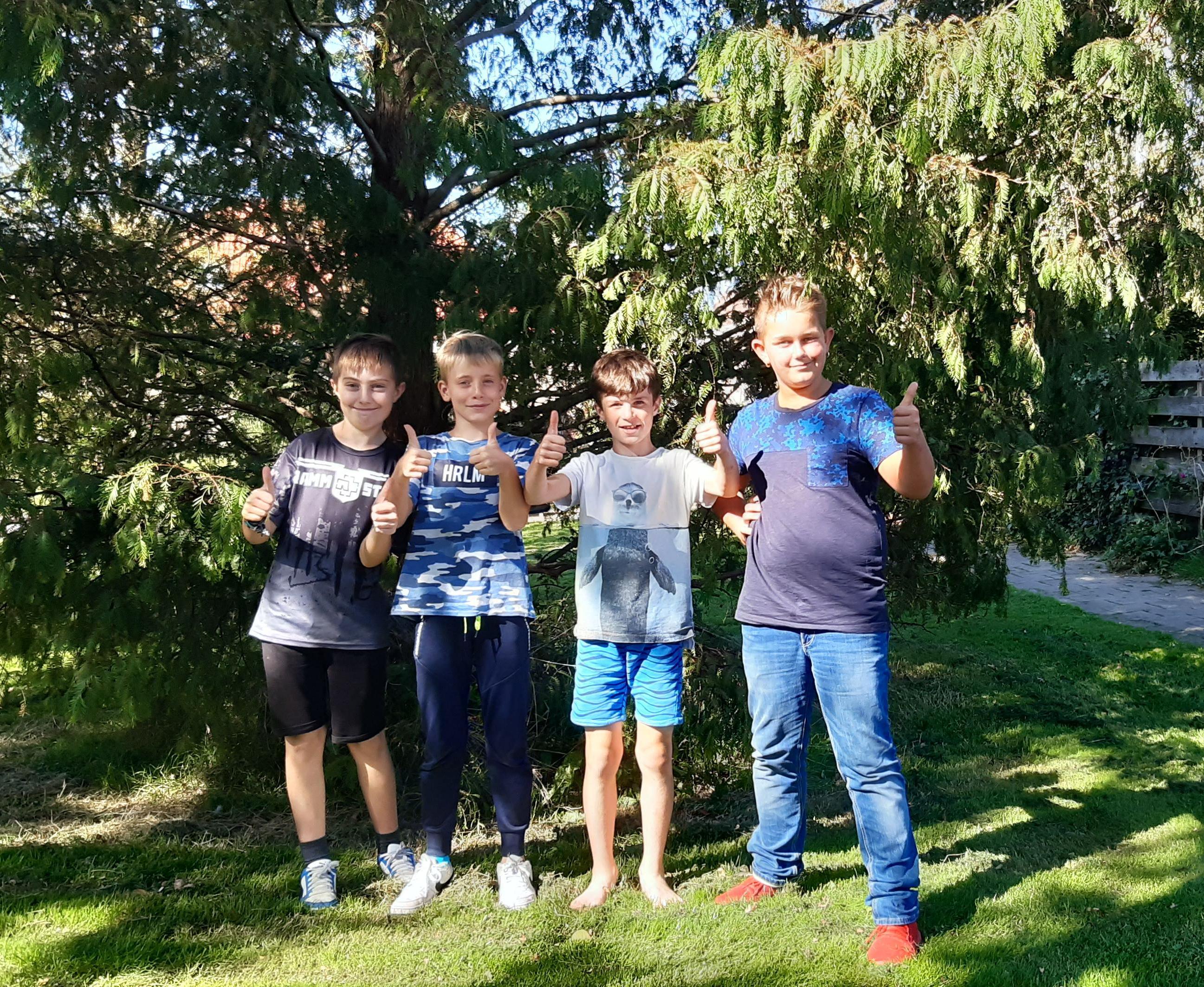 Abbekerkse vrienden zijn te groot voor de speeltuin: 'Wij willen een skatebaan!'