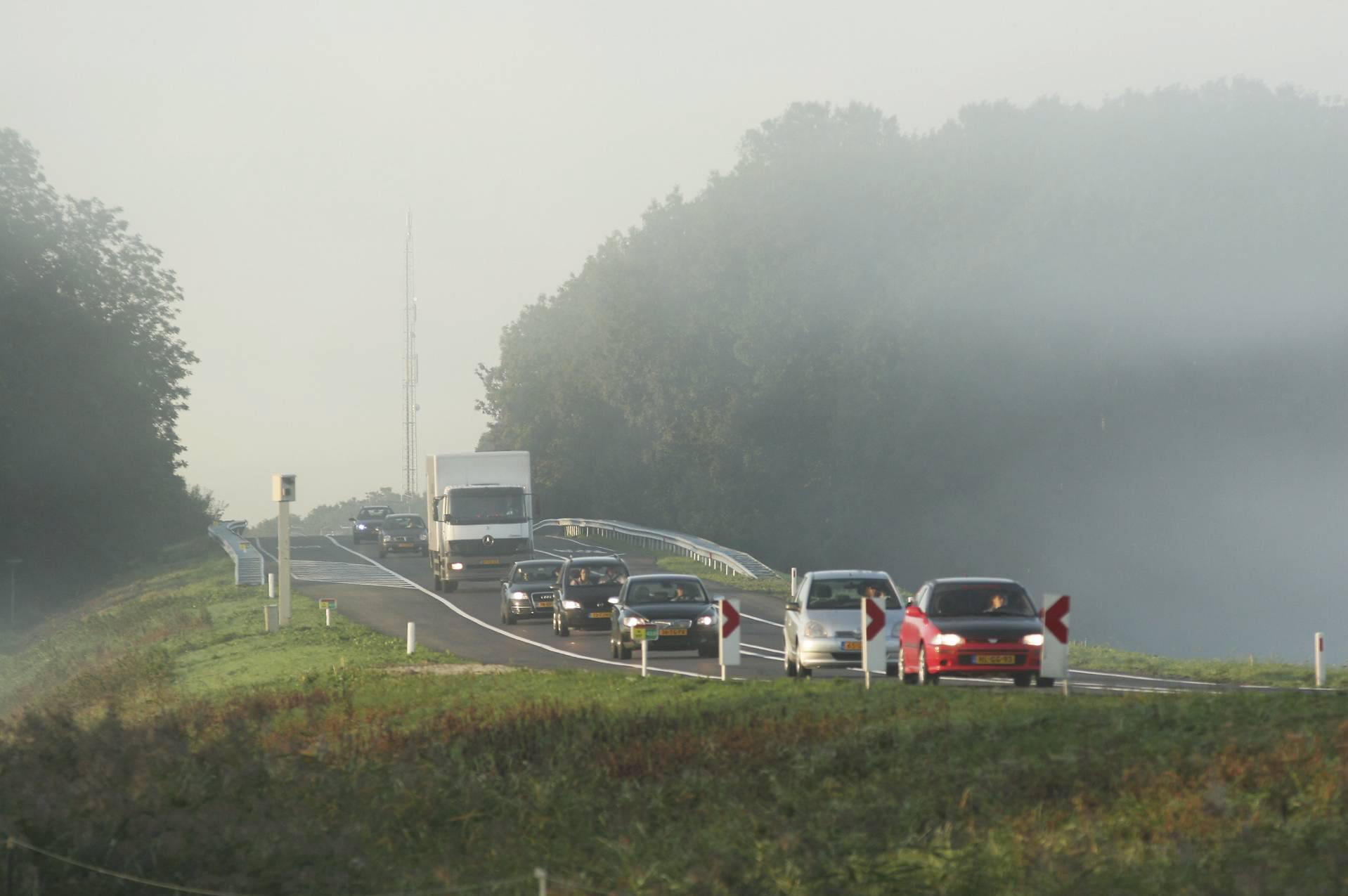 Werk aan brug over Leidsevaart in N207 begint