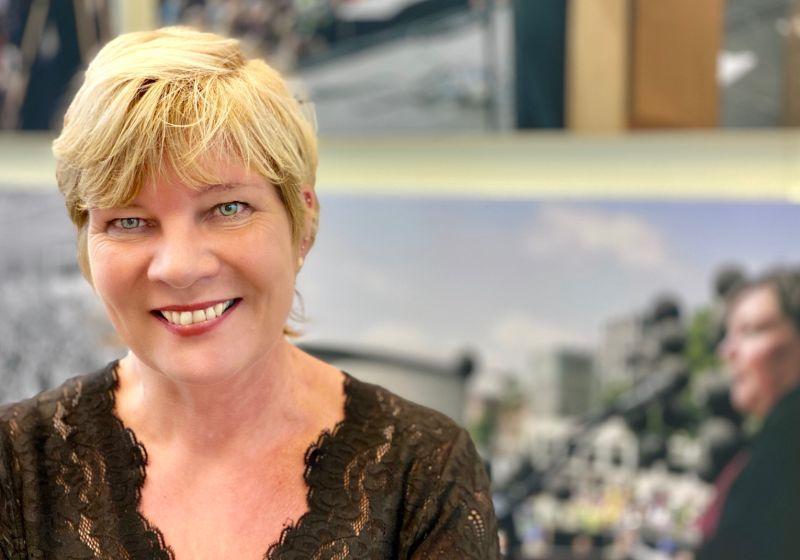 Kitty Jong uit Weesp heeft haar hart verpand aan de vakbond; daarom wil zij de baas van de FNV worden