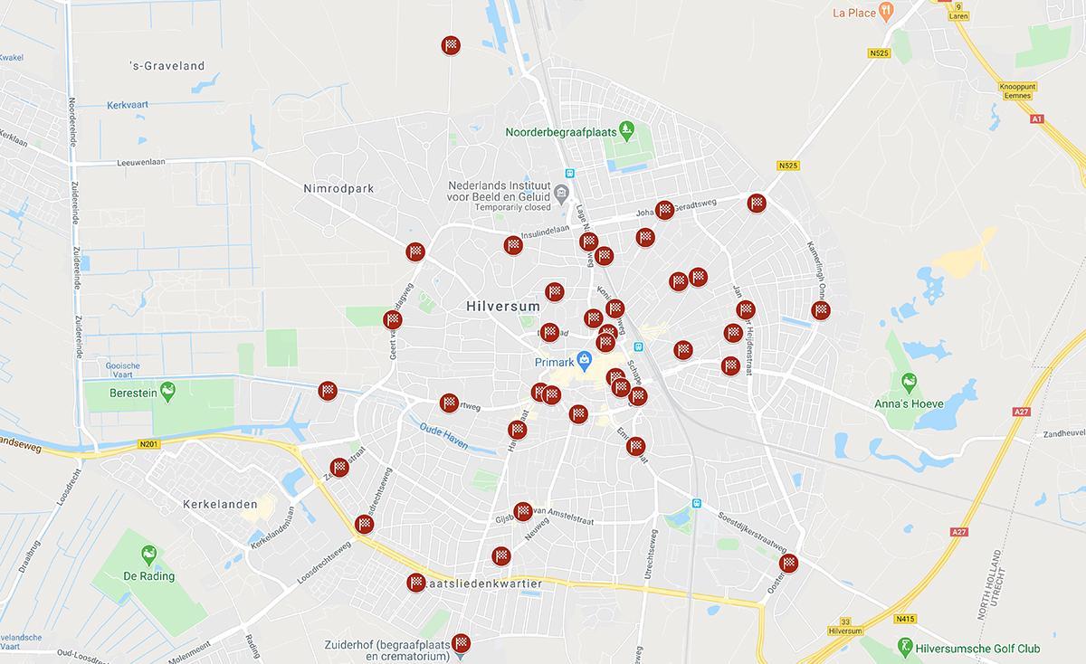 Hilversum als racecircuit: 'Hopelijk gaat de gemeente hier wat mee doen voordat er doden vallen!'