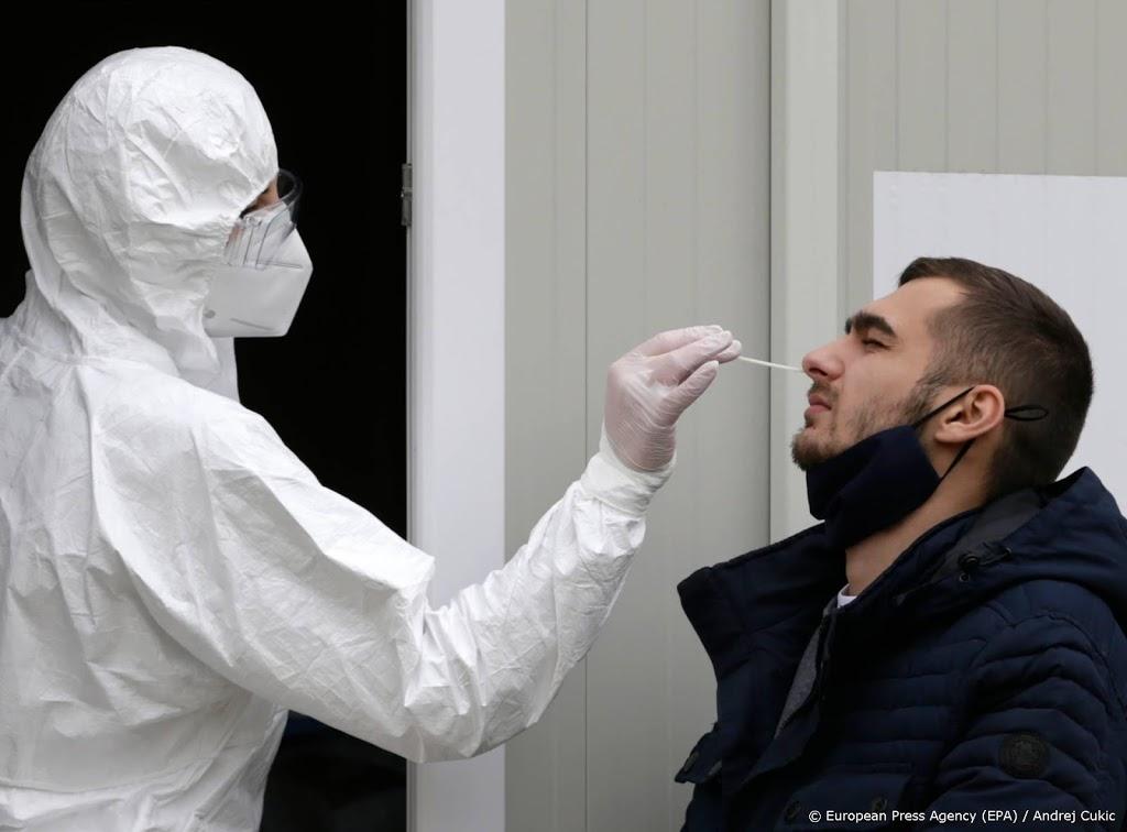 'Ruim 25 miljoen coronabesmettingen in Europa geregistreerd'
