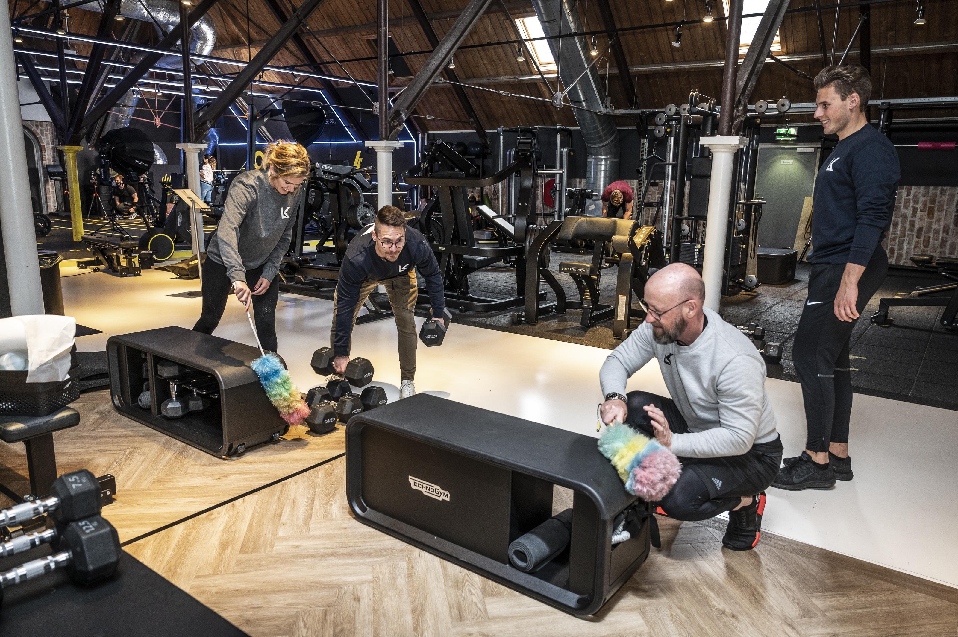 Sportscholen Mike's Gym en Lijfkracht in de startblokken: 'Tachtig procent van de tijdslots is woensdag al geboekt'
