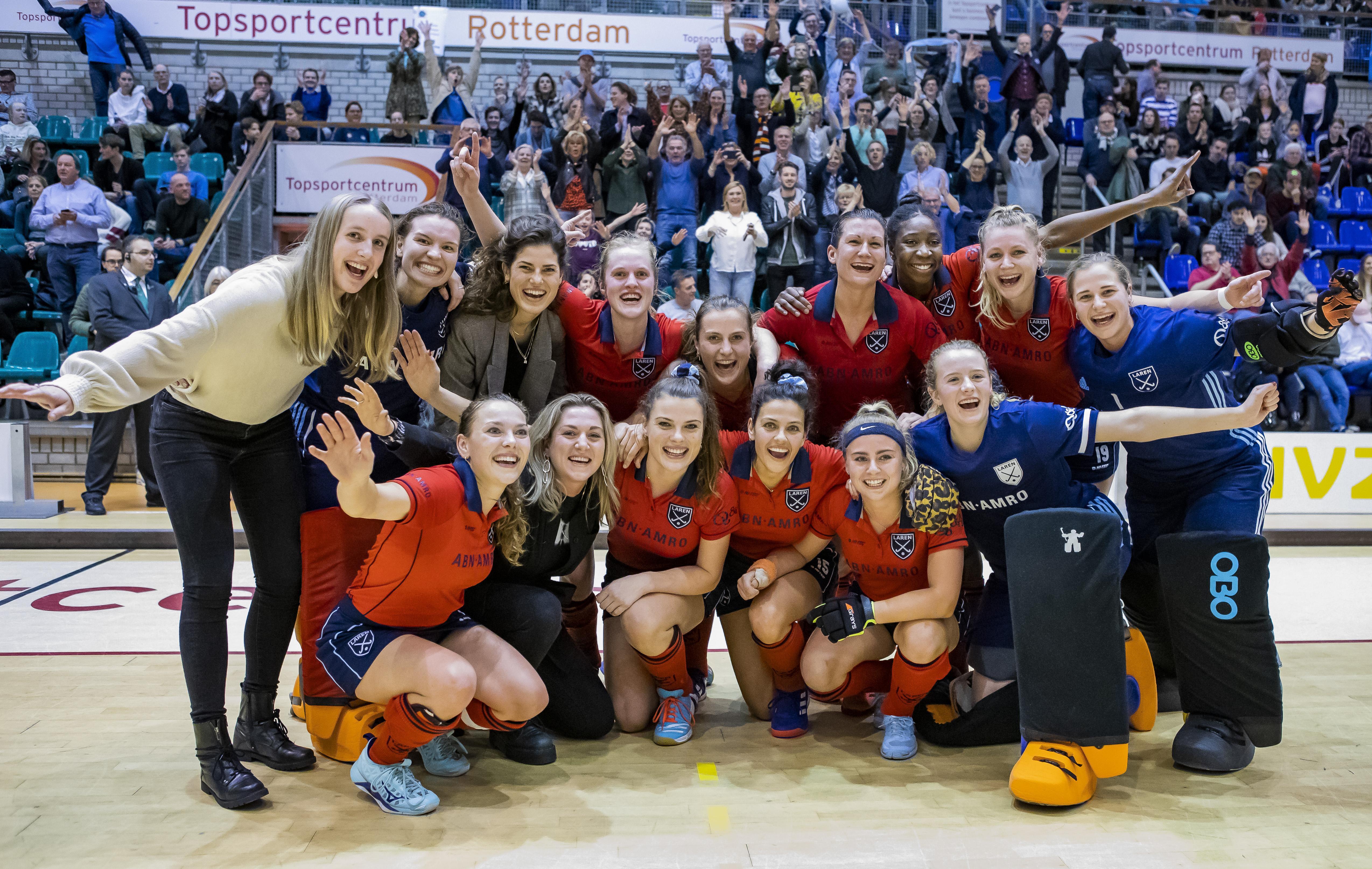 Hockeysters Laren zullen komend jaar niet de kans krijgen in eigen land de Europa Cup te heroveren: 'We zagen het aankomen, het is totaal begrijpelijk'