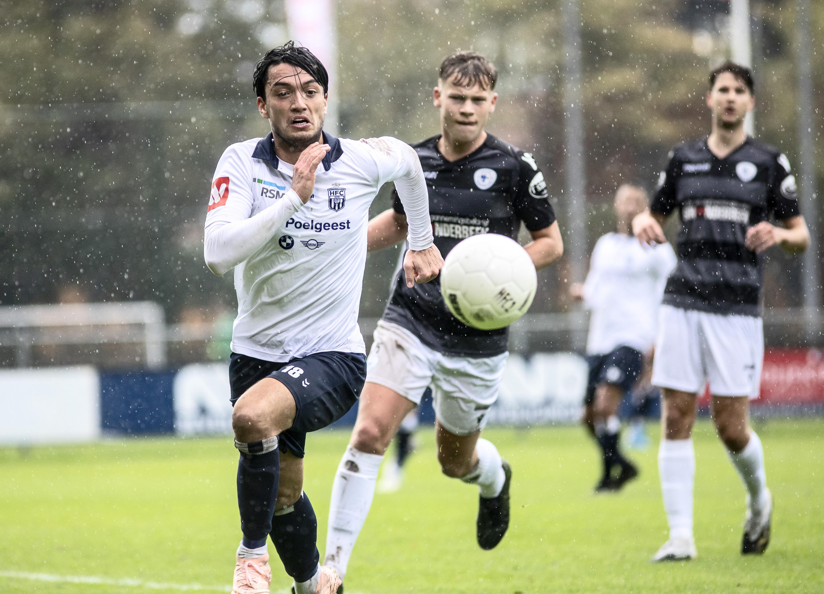 'Het is misschien raar om te zeggen na een nederlaag, maar ik ben trots op die gasten': verliespartij met perspectieven voor Koninklijke HFC