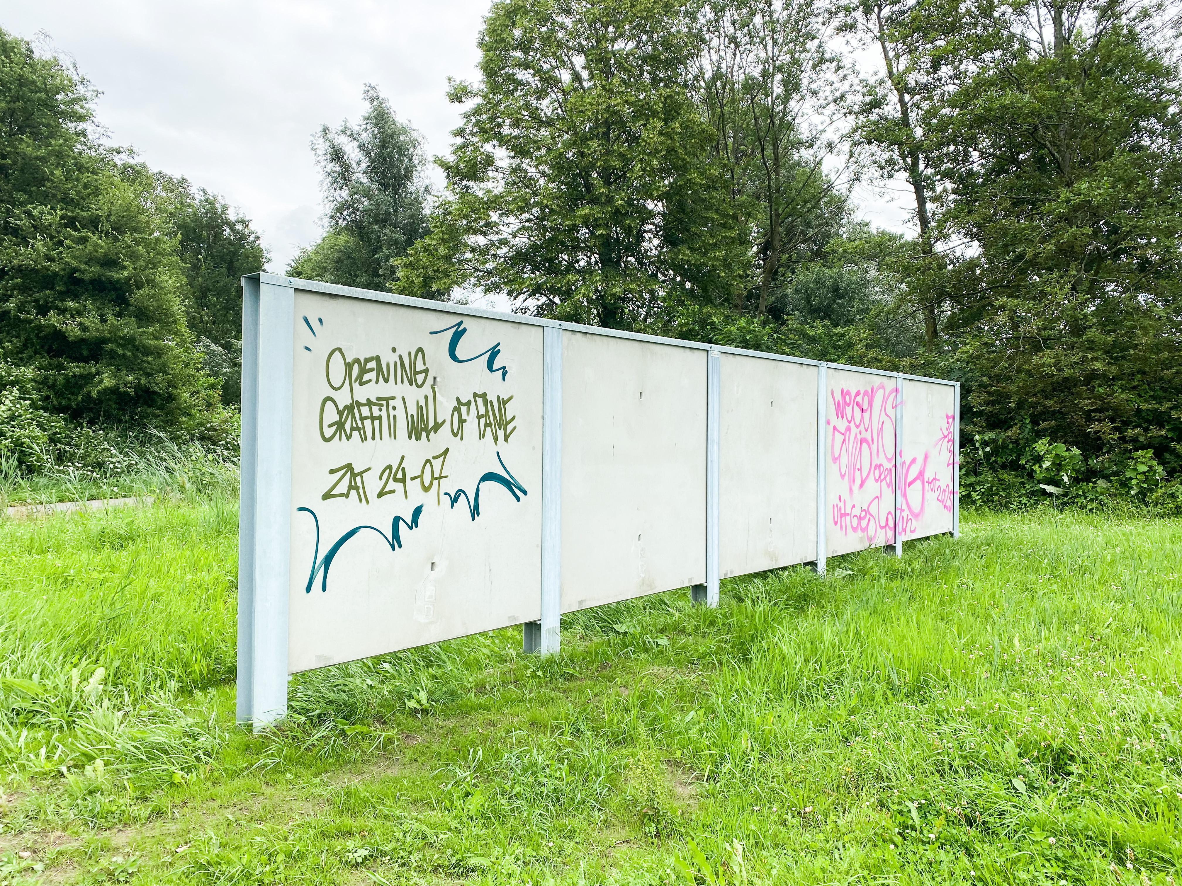 Alphen aan den Rijn krijgt een Graffiti Wall of Fame: fietstunnel onder N11 blijkt niet meest geschikte plek