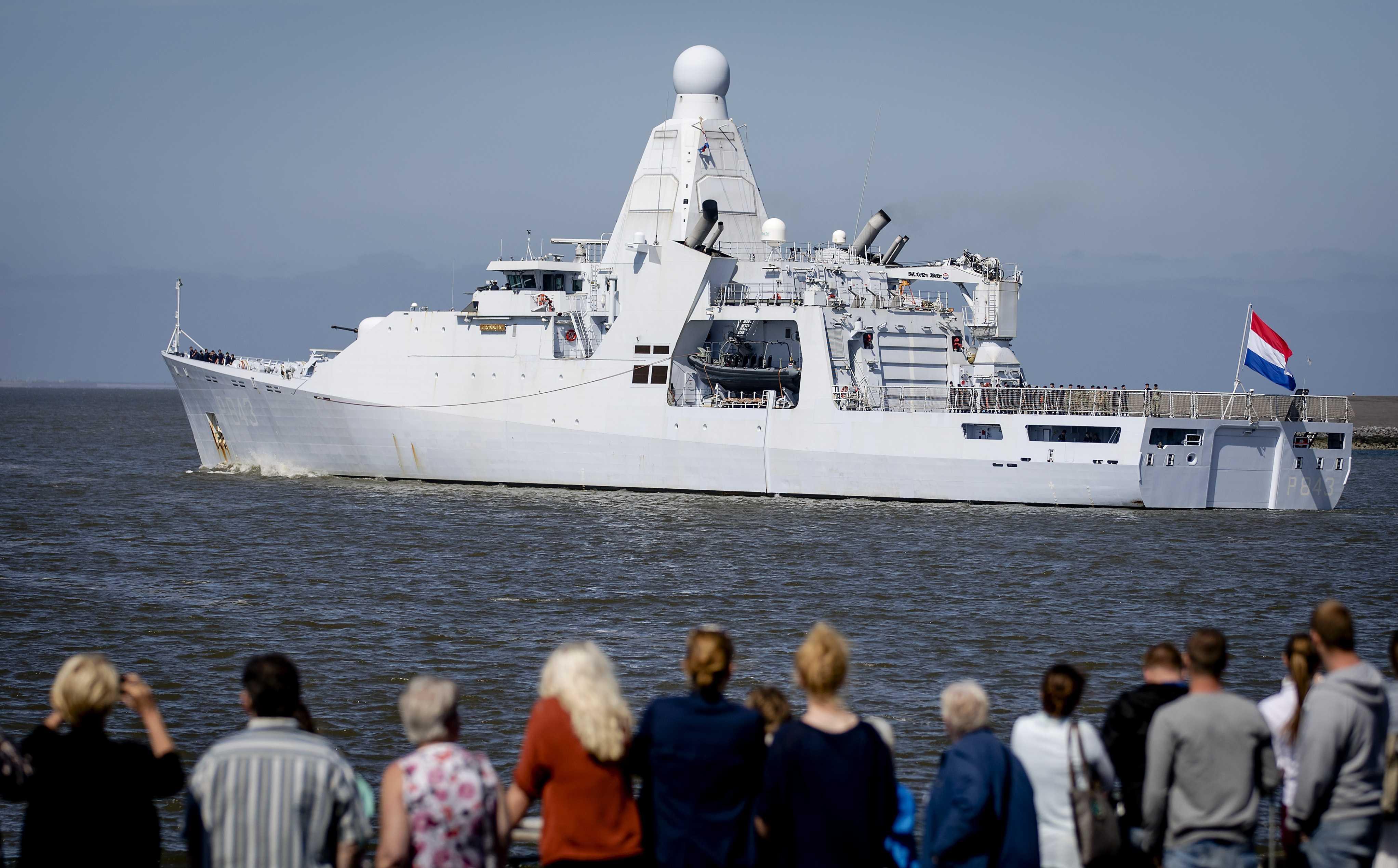 Marine onderschept grote hoeveelheden drugs in Caribisch gebied