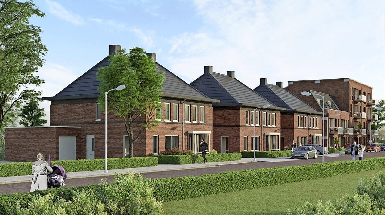 Groen licht voor bouw 39 huurappartementen en twee koopwoningen in Velsen-Noord