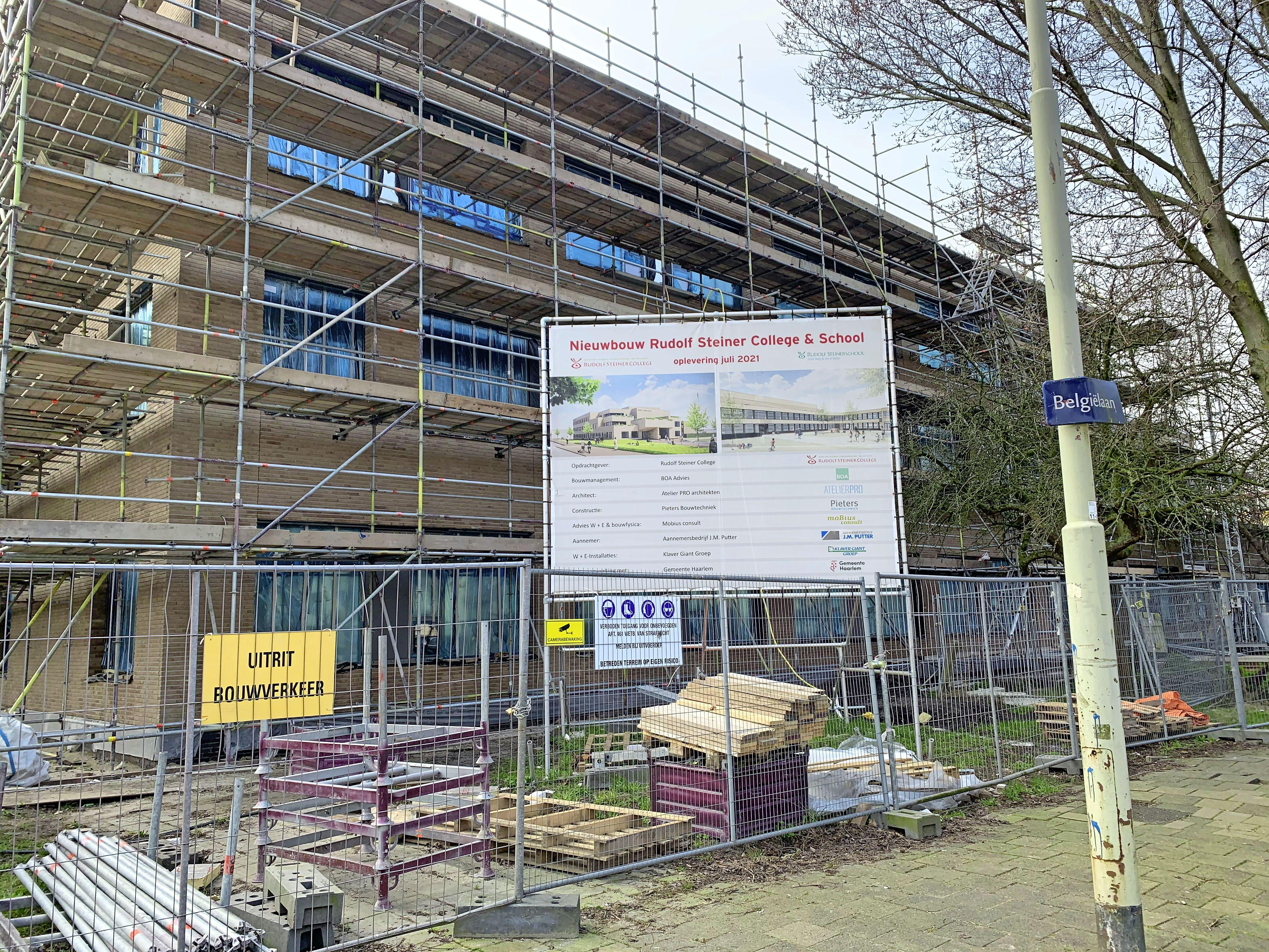 Onvrede bij omwonenden over nieuwbouw Rudolf Steiner College. 'Gevoel dat de school wel de lusten wil, maar niet de lasten'