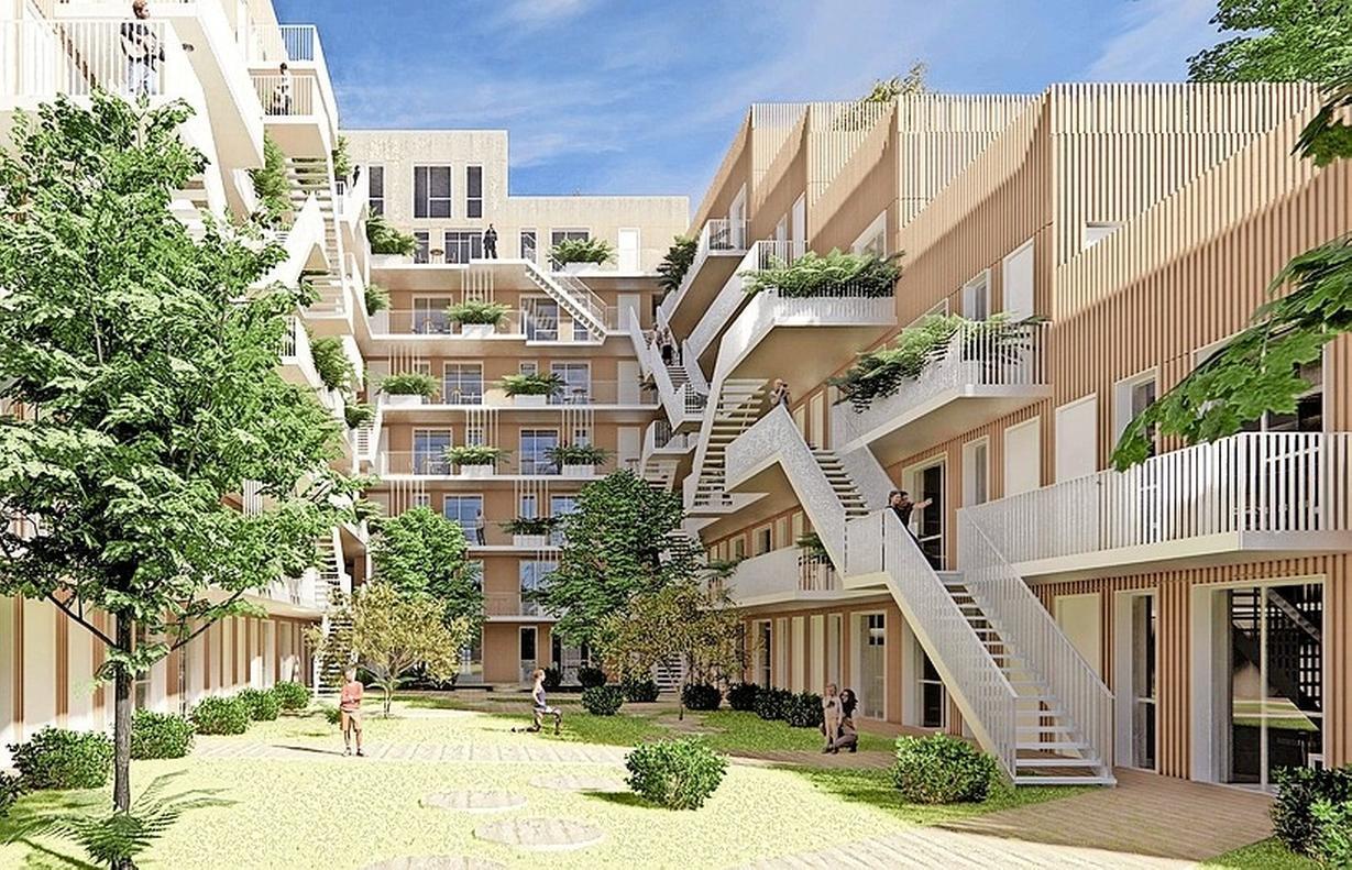 Nieuwbouw op plek La France hoog en prijzig