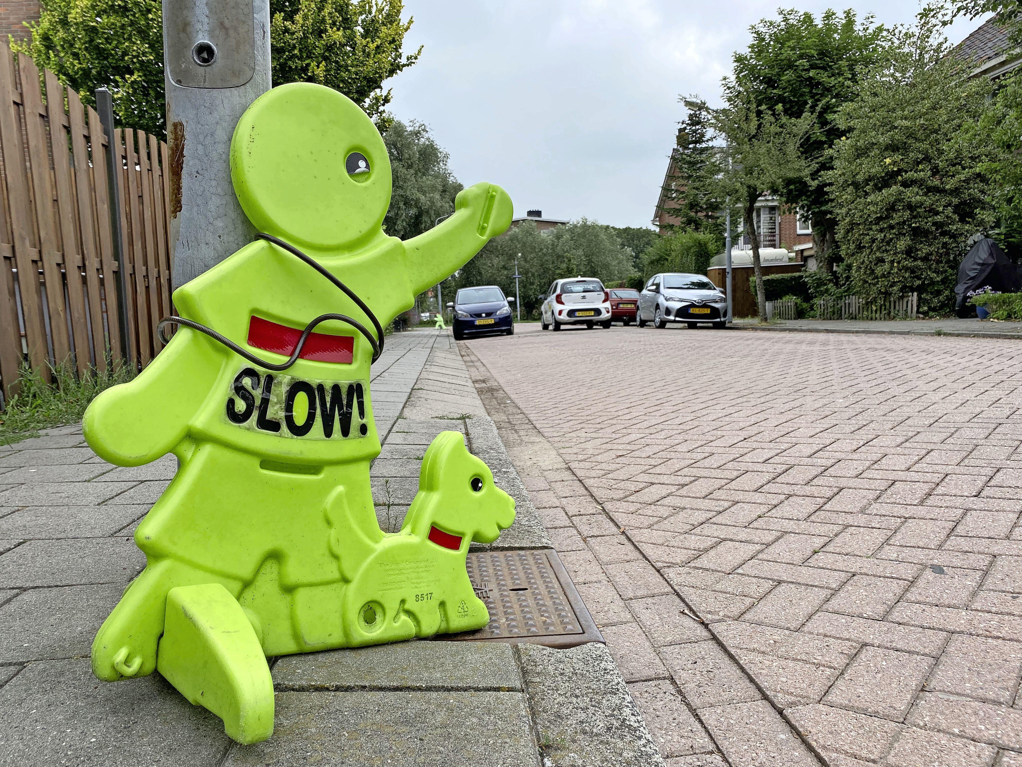 Buurtbewoners Krommenie blij met aangekondigde snelheidsmetingen Fortuinlaan