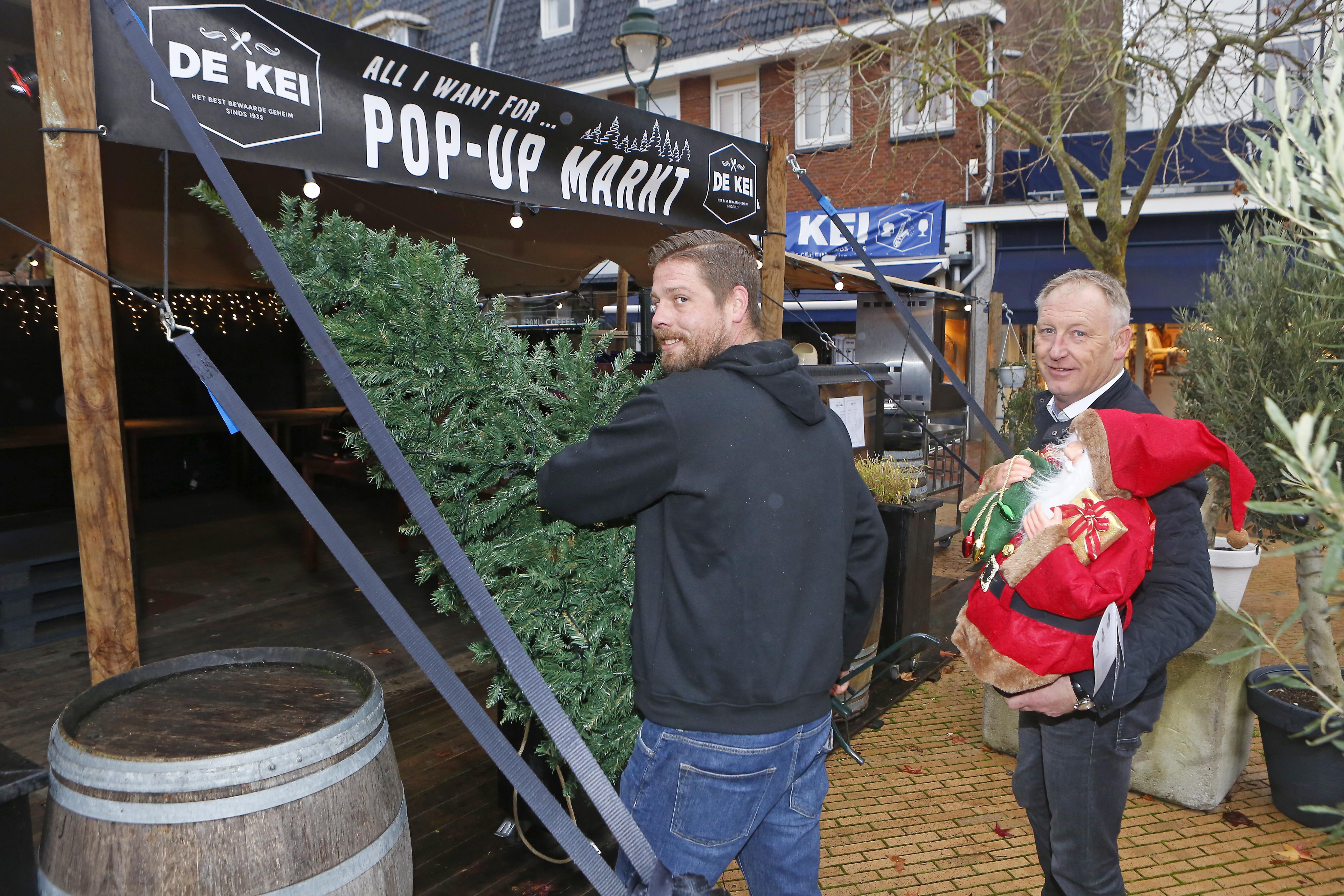 Stilzitten is geen optie voor horecaman Koen van De Kei dus opent hij een coronaproof kerstmarkt in Hilversum