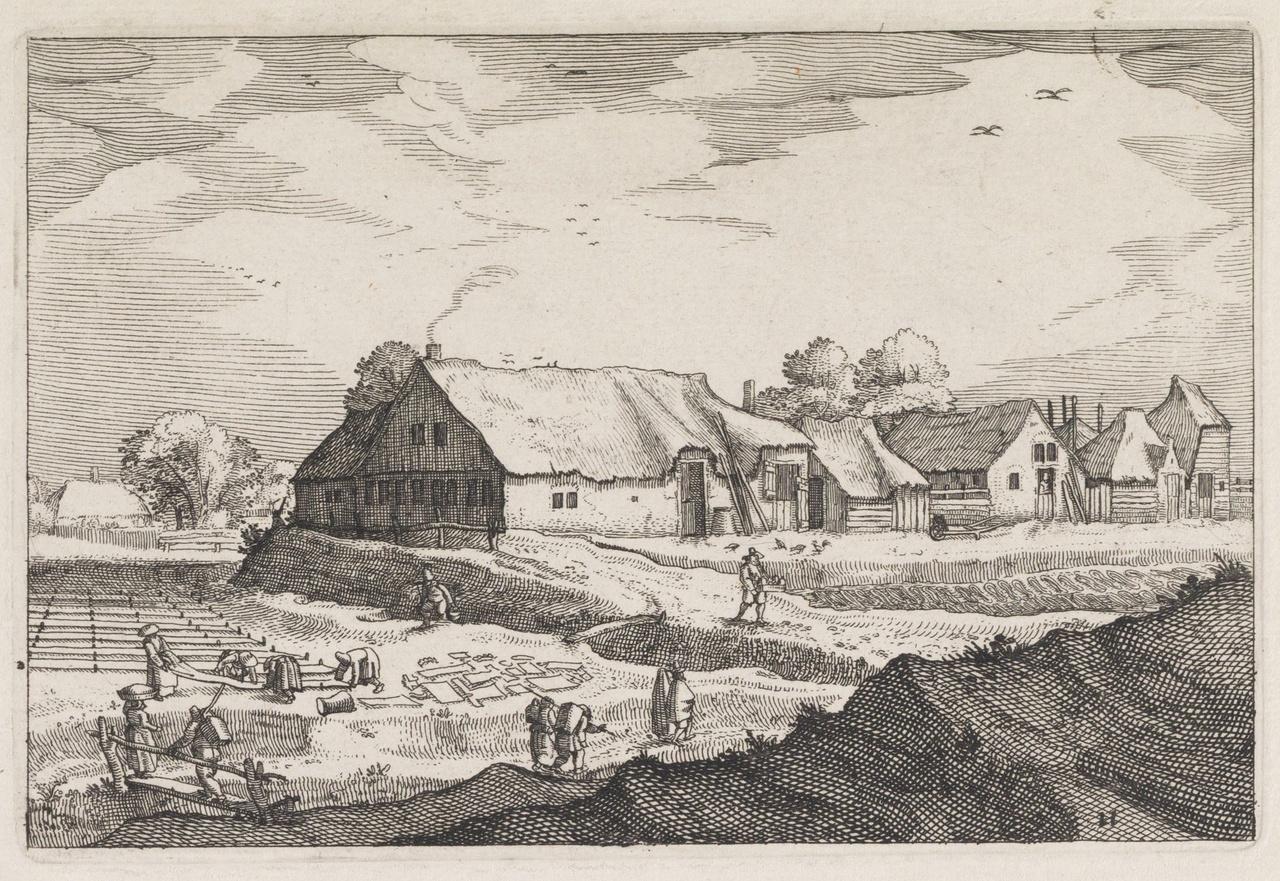 Haarlems linnen was onvoorstelbaar smerig, de zon deed zijn blekende werk op de velden rond de stad