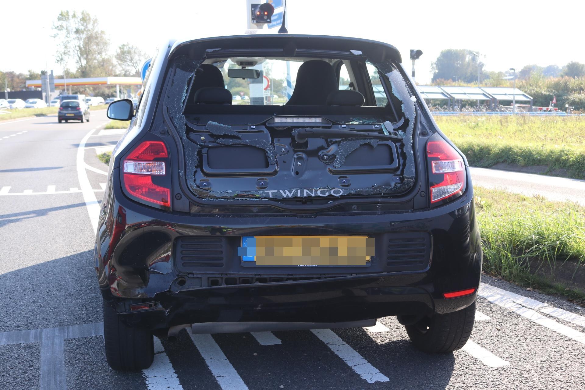 File van Katwijk naar Leiden loopt op door ongeluk