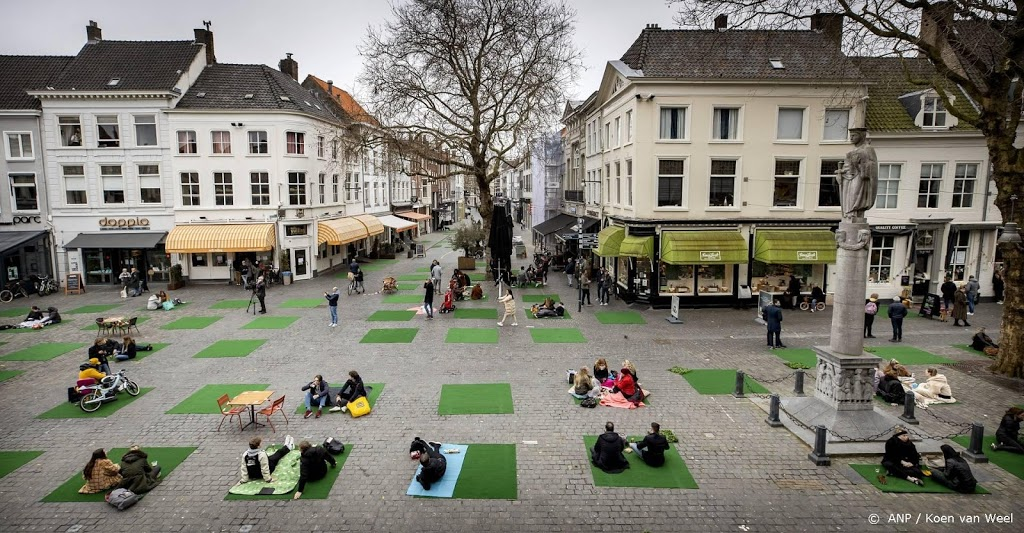 Ludieke picknick horecaondernemers Breda rustig verlopen