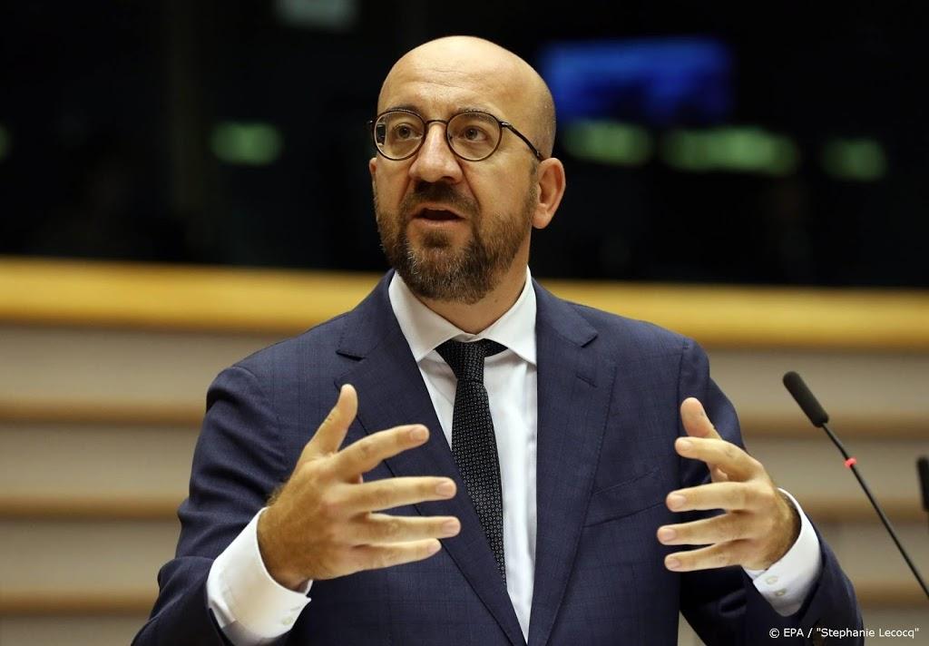 Ook EU-president Michel brengt bezoek aan Beiroet