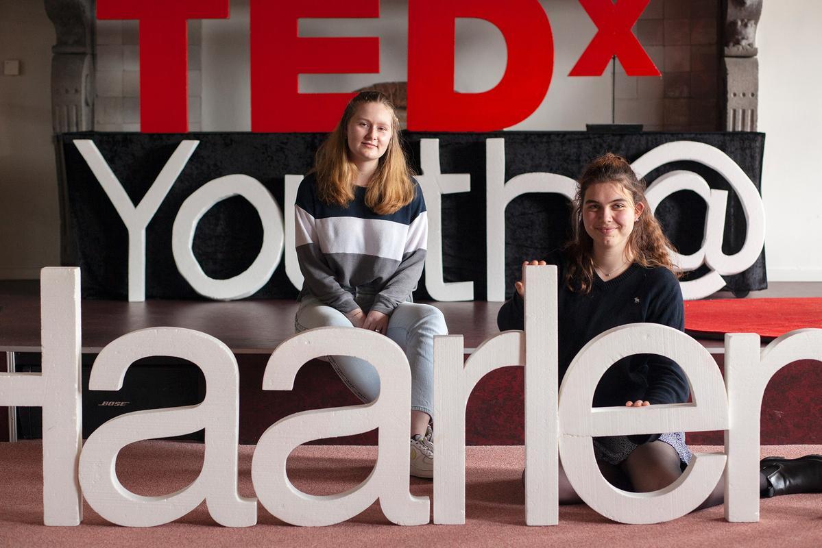 Scholieren Stedelijk organiseren TedxYouth@Haarlem 2021