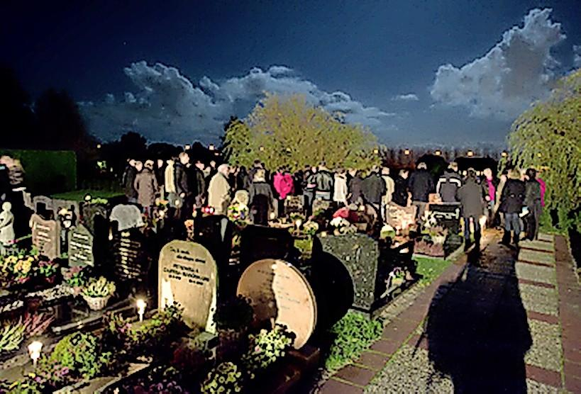 Allerzielen in IJmond: Maar liefst 153 doden herdacht in Uitgeest