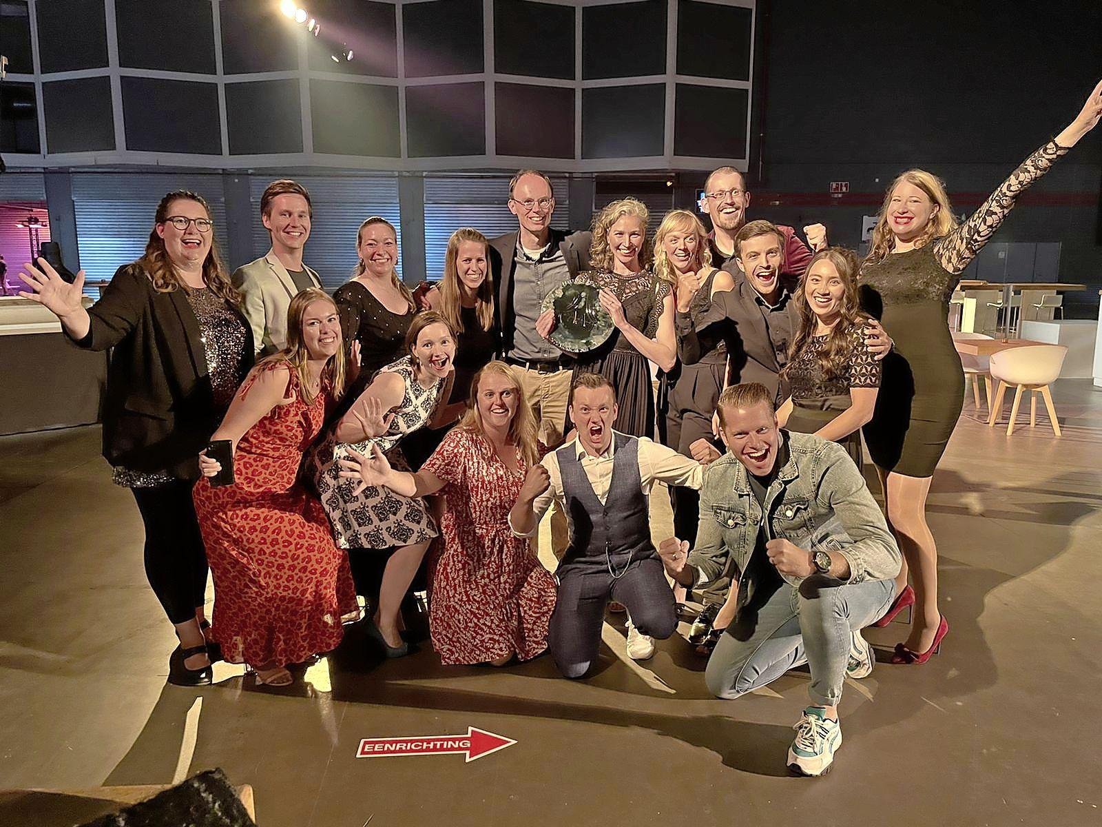 Musicalvereniging Unidos wint prestigieuze award. Kers op de taart van 'Thoroughly Modern Millie'