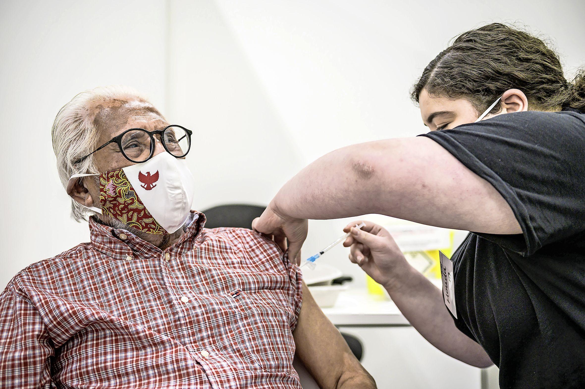 Aantal coronaprikken voor dak- en thuislozen teleurstellend, maar GGD vaccineert op hoog tempo verder: 14.000 injecties in een week