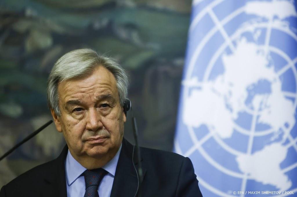 Tweede termijn voor VN-chef António Guterres