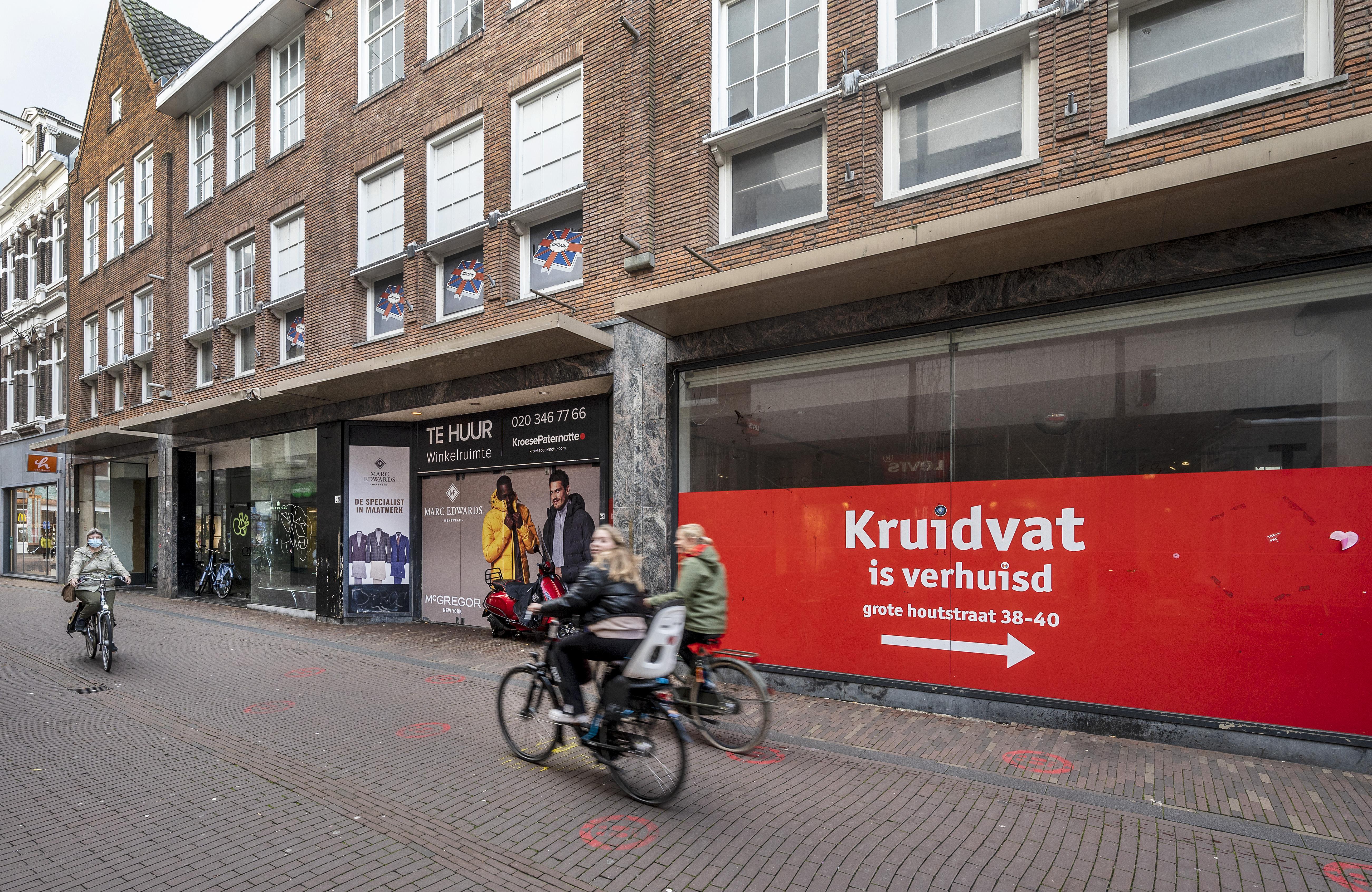 Cultuurboulevard geen oplossing voor leegstand Grote Houtstraat in Haarlem: 'niet realistisch' en 'te weinig uitstraling'